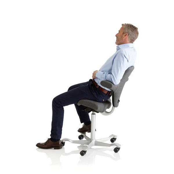 HAG Capisco 8106 Office Chair in Grey - Quick Ship